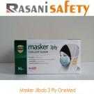 Masker Jilbab 3 Ply OneMed