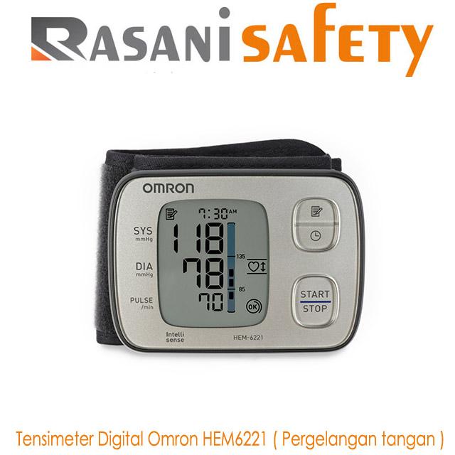 Tensimeter Digital Omron HEM6121 ( Pergelangan tangan )