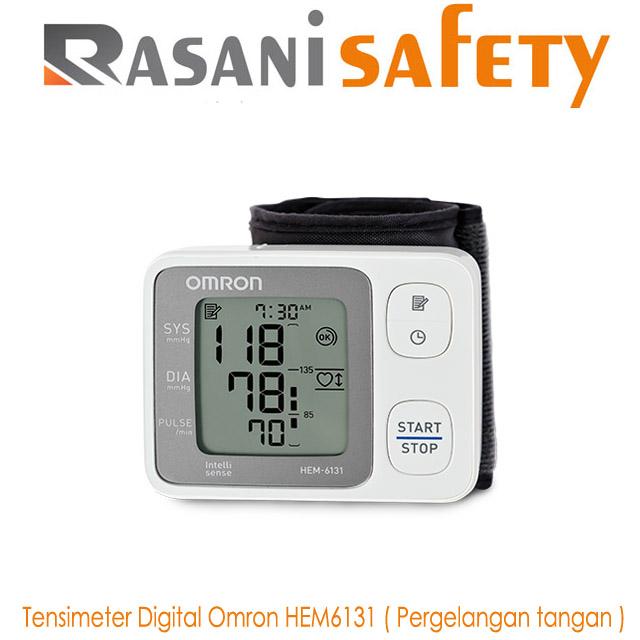 Tensimeter Digital Omron HEM6131 ( Pergelangan tangan )