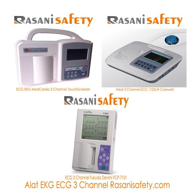 Alat Ekg Ecg 3 Channel Rasanisafety Rasani Safety
