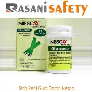 Strip refill Gula Darah Nesco
