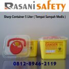 Sharp Container 5 Liter ( Tempat Sampah Medis )