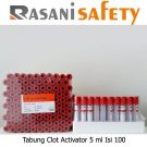 Tabung Clot Activator 5 ml Isi 100