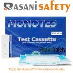 Rapid Test Malaria PF PV Tri Line Device Monotes