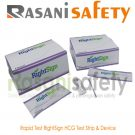 Rapid Test RightSign HCG Test Strip & Device