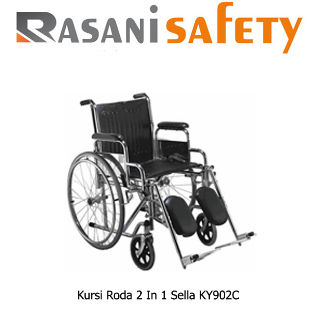 Kursi Roda 2 In 1 Sella Ky902C Murah Kursi Roda 2 In 1