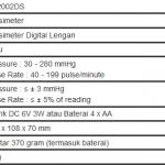 Tensimeter Digital Lotus