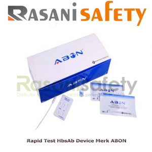 Rapid Test HbsAb Device Merk ABON