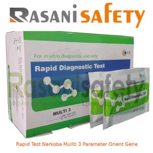 Rapid Test Narkoba Multi 3 Parameter Orient Gene