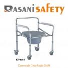 Commode Chair Roda KY696