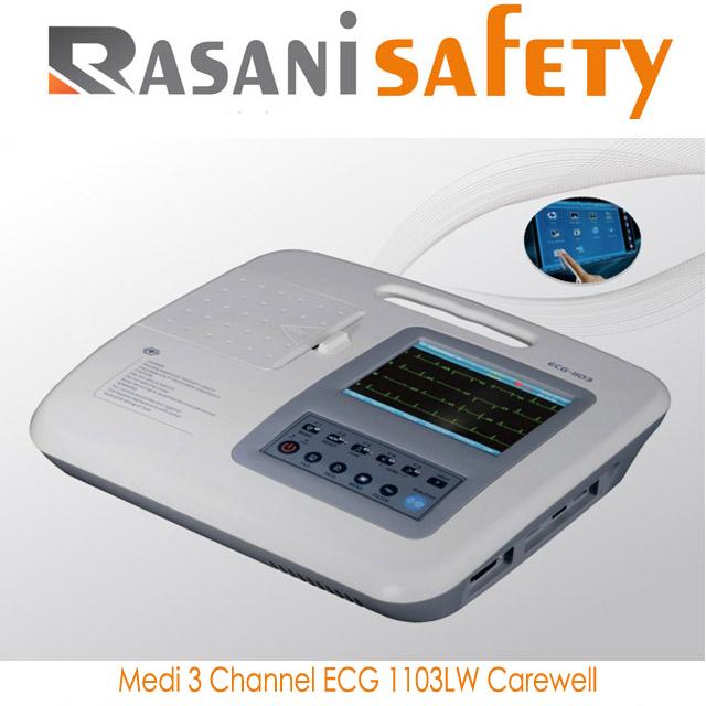 Medi 3 Channel Ecg 1103lw Carewell Rasani Safety