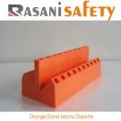 Orange Stand Macro Dispette