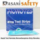 Rapid Test Narkoba Benzodiazepines strip Monotes