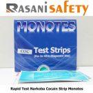 Rapid Test Narkoba Cocain Strip Monotes