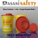 Sharp Container 1,5 liter ( Tempat Sampah Medis )