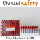 Tabung Clot Activator 5 ml Isi 100