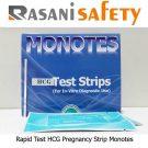 Rapid Test HCG Pregnancy Strip Monotes